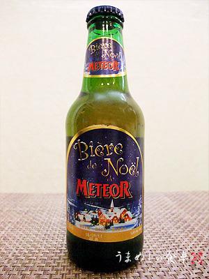 Biere Noel METEOR