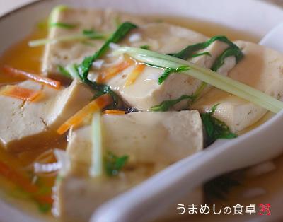 豆腐の中華煮
