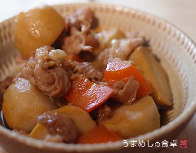 里芋の甘辛煮