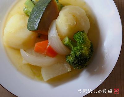 ゴロゴロ野菜のスープ